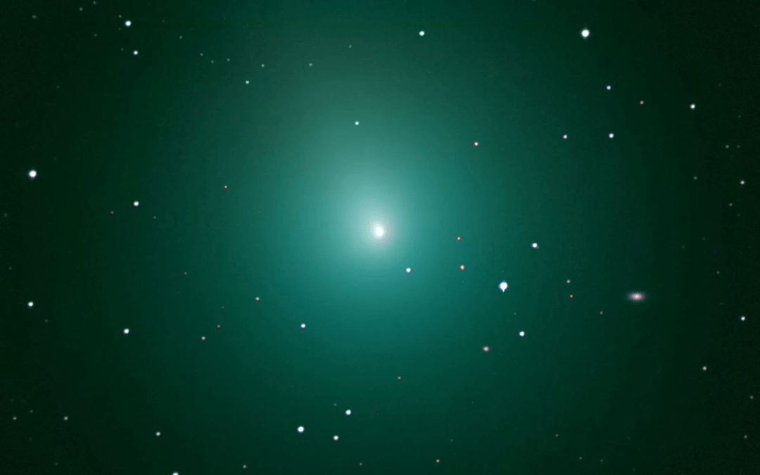The return of the green comet