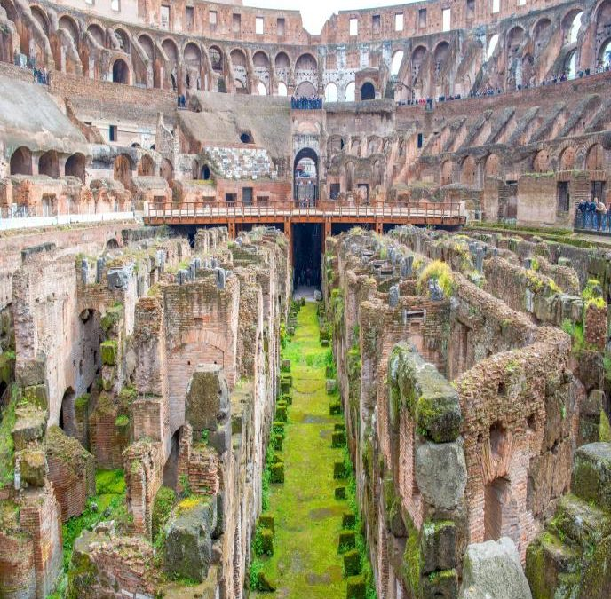 Ancient Romans may have built structures that acted like seismic invisibility cloaks