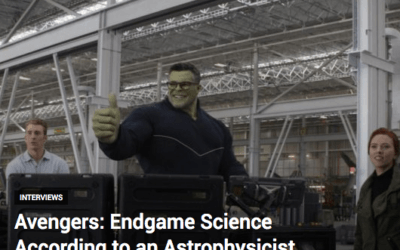 Geek News Network's exciting interview with Dr. Amira Val Baker about the Science of Avengers: Endgame.