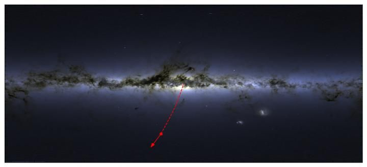 Was a Star Ejected from Our Central Black Hole?